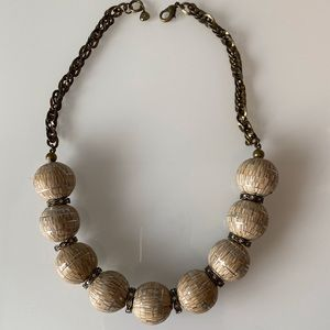 Fossil | Unique Ball Necklace